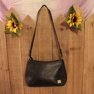 Liz Claiborne Small Black Shoulder Bag Purse